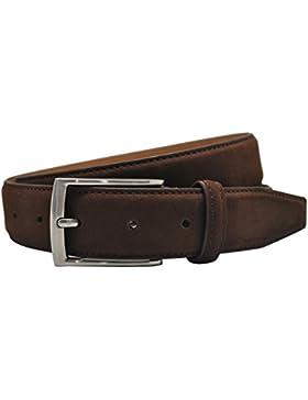 Suelo Mente Cinturones para vestidos de piel de nobuck–Cinturón para hombre