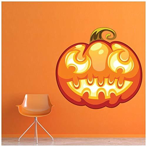 Halloween-Laterne Wandtattoo in 8 Größen erhältlich Digital ()