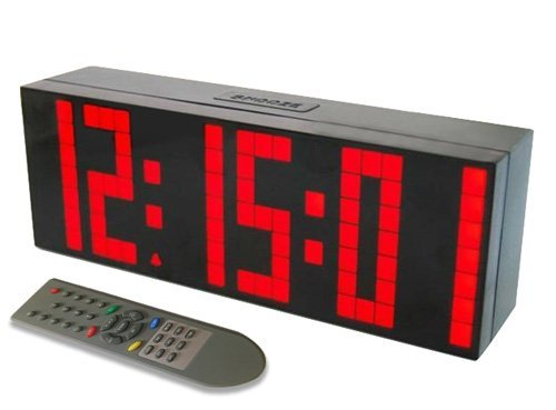 Despertador Reloj Grande LED Cuenta reloj pared temporizador
