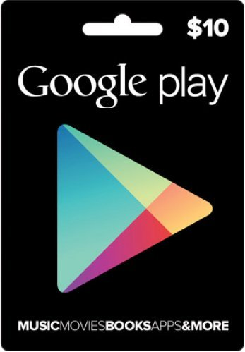 Google Play Gift Card 10