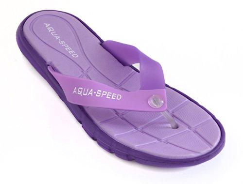 Aqua-Speed-Scarpe da donna, da spiaggia/bagno per scarpe Viola - viola