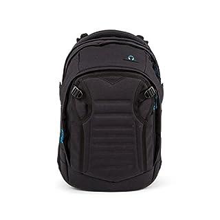 8480637342678 satch Match Facelift ergonomischer Schulrucksack für Teenager - Black Bounce