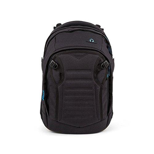 satch Match Facelift ergonomischer Schulrucksack für Teenager - Black Bounce