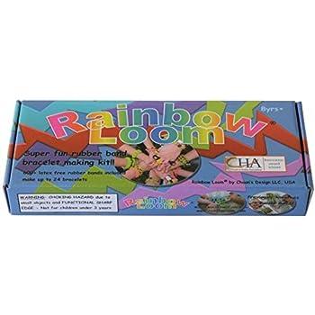 coupon de réduction grande remise les ventes en gros Rainbow Loom Make Your Own Bracelet Kit - Rubber Bands, Twist, Rainbow,  Scoobies
