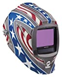 Miller 271330Series infinity Digital stelle e strisce casco per saldatura, nero