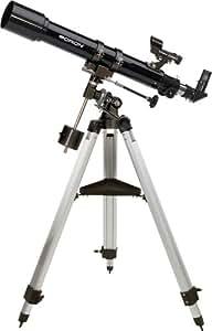 Orion 09882e Réfracteur 10x Noir - télescopes (70,4 cm, 7 kg, 7 cm, Aluminium, Aluminium)