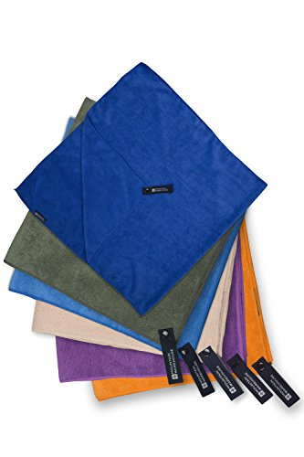 Mountain Warehouse Giant Micro Towelling Travel Towel in 6 Colours - Light, Fast Drying and...
