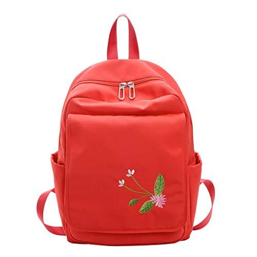 LILIHOT Damentasche Rucksack Studententasche Reisetasche GroßE KapazitäT Mittlere Studententasche Wasserdicht Schulrucksack Reiserucksack Multifunktions Rucksack