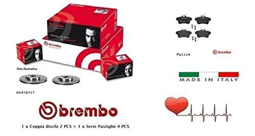 Dischi + Pastiglie Freno Posteriori Brembo