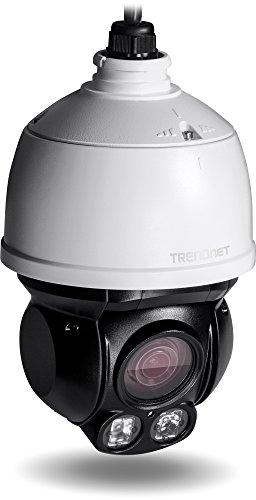 TRENDnet Indoor/Outdoor Speed Dome PoE IP Kamera mit 2 Megapixel 1080p Voll HD Auflösung, 4x optischer Zoom, 16x digitaler Zoom mit Autofokus, Gehäuse IP66 Wetterschutzklasse Digital-zoom-2,4