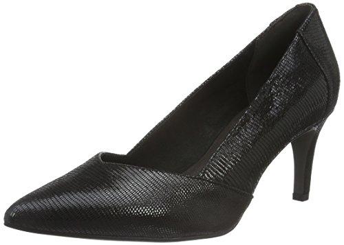 Tamaris 22424, Escarpins Femme Noir (Black Struct 006)