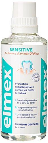 Elmex Bain de Bouche Sensitive 400 ml Lot de 2