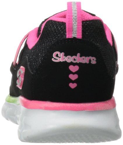 Skechers SynergyLoving Life, Sneaker bambine Nero (Schwarz (BKMT))