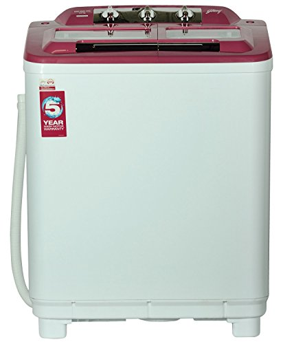 Godrej GWS6502 Kg 6.5KG Semi Automatic Top Load Washing Machine