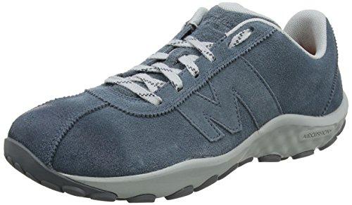 Merrell sprint lace suede ac+, sneaker uomo, grigio (slate), 42.5 eu