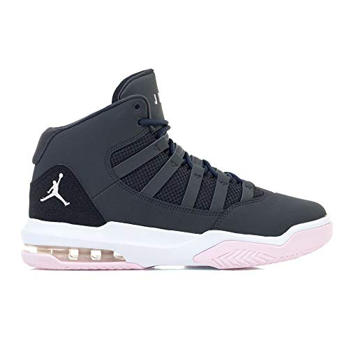Nike Jordan Max Aura Big Kids' Shoe - anthracite/pink foam -black-white, Größe:5.5Y