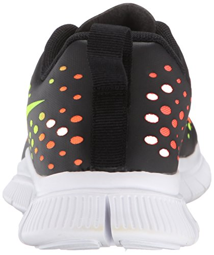 Nike - Free Express, Sneakers Infantile Nero (noir Blanc Total Orange)