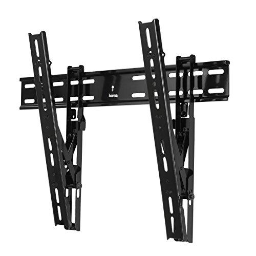 """Hama TV-Wandhalterung Motion """"Ultraslim"""", neigbar, für 81 - 142 cm Diagonale (32 - 56 Zoll), für max. 45 kg, VESA bis 600 x 400, schwarz"""