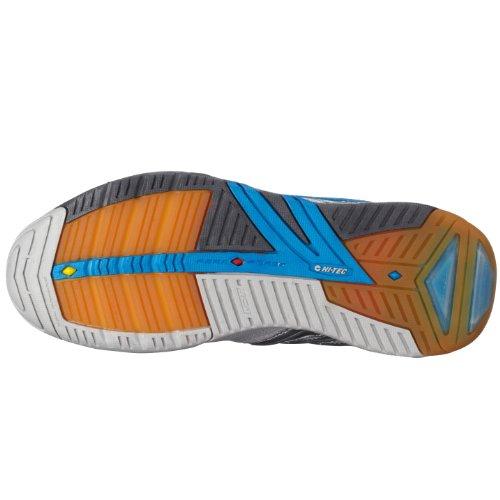 Hi Tec 4SYS Badminton PF W`, Chaussures multisports femme Argent