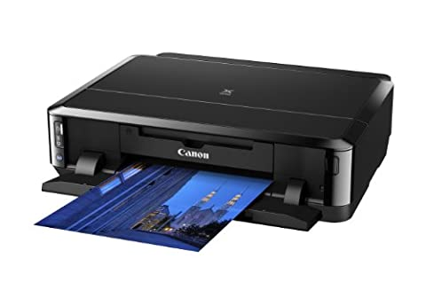 Canon Pixma IP7250 Inkjet Colour Printer With Auto Double Side Printing + Direct Disc Print, 9600DPI 1PL Print Technology capable of Producing HD Quality