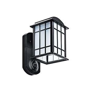 Kuna Smart Home Security Outdoor Light & Camera - Craftsman Black