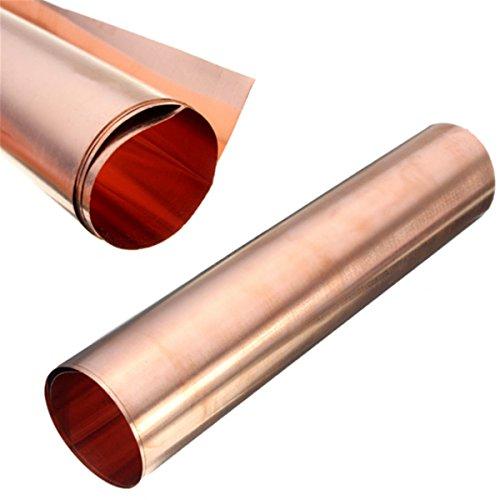 MAGIC SHOW reines Kupfer 99.9% Cu Blech Folie 0.1x200x1000MM für Handwerk Luft- und Raumfahrt TO296 -