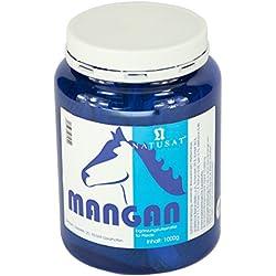 Natusat Mangan Chelat Pulver 1000 g - Ergänzungsfutter für Pferde