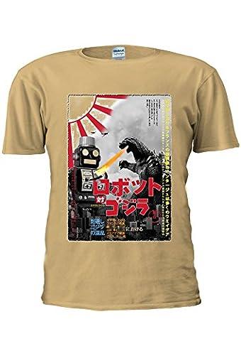 Tokyo Tin Robot Godzilla Top Fashion Japan Japanese Unisex T Shirt Top Men Women Ladies-S