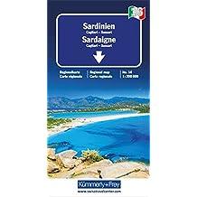 Italien 16. Sardinien 1 : 200 000. Straßenkarte (Kümmerly+Frey Reisekarten)