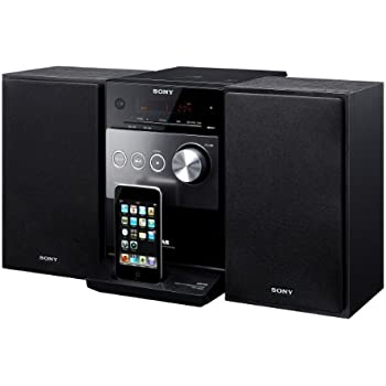 Sony CMTFX300I Micro Hi-Fi iPod Dock with CD and FM Tuner