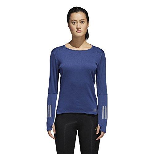 adidas Damen Response Longsleeve T-Shirt, Noble Indigo, M Preisvergleich