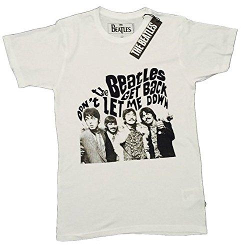 the-beatles-get-back-para-hombre-t-camiseta-de-manga-corta-producto-oficial-de