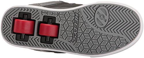 Heelys Bolt, Sneakers Basses Mixte Enfant Multicolore (Black / Grey / Red)