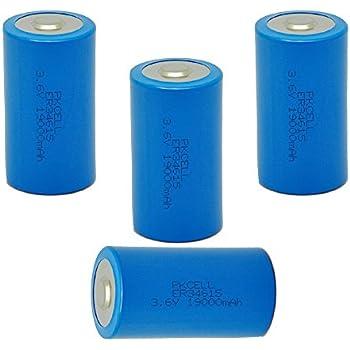 13.000 mAh 3,6V Thionylchlorid SPEZIAL Lithium Batterie Saft LSH20 D Mono