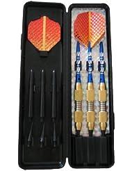 Solex Soft & Eletronic Dart Set 3Stück Wallet Champion, mehrfarbig, 17.6 x 10 x 1.3 cm, 43039