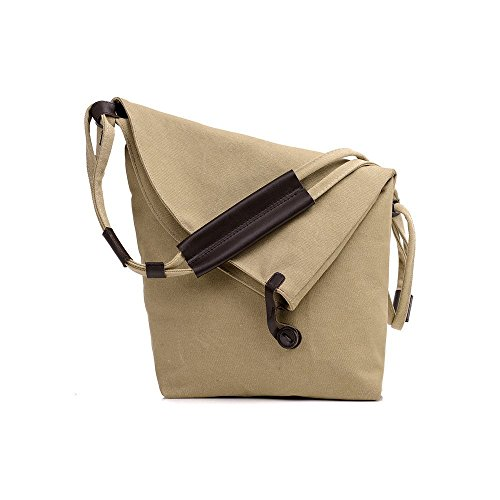 Greatan, Borsa a secchiello donna blu Blue small Khaki