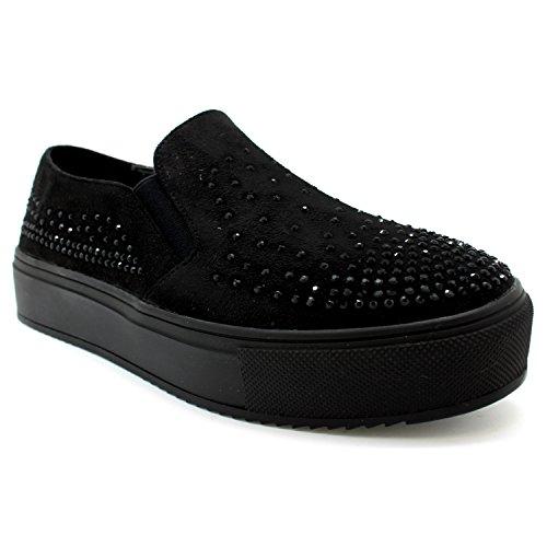 XTI , Damen Sneaker Schwarz