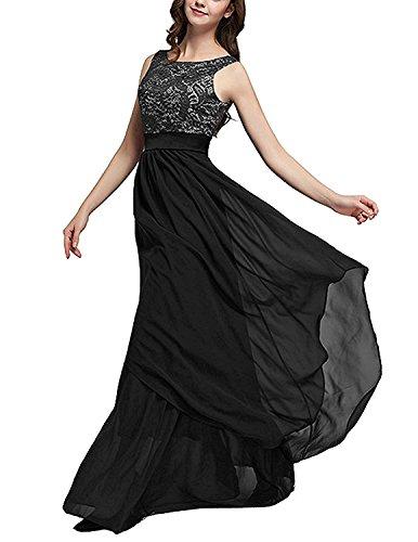 Vestidos de fiesta xxl negro