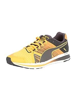 Puma Men's Faas 300 S V2 Weave Orange Pop and Asphalt Running Shoes - 11 UK/India (46 EU)