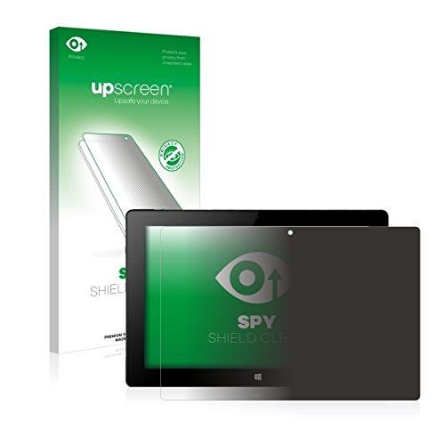 upscreen Spy Shield Clear Blickschutzfolie / Privacy für Xoro PAD 10W4 (Sichtschutz ab 30°, Kratzschutz, selbstklebend)