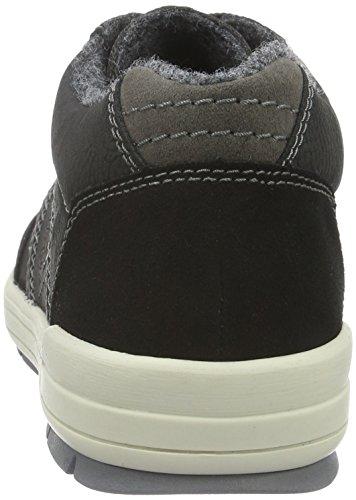 Rieker 12444, Sneakers Hautes Homme Noir (Schwarz/Schwarz/Fumo/Schwarz/00)
