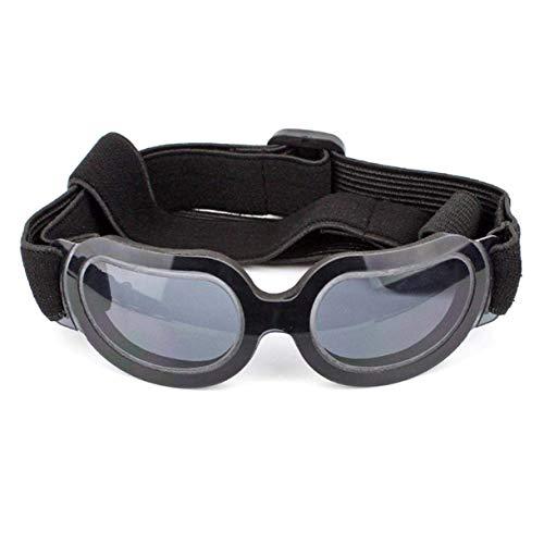 Landingstar Modisch Hund Sonnenbrille,Brille für Mittelgroß und Groß Augenschutz mit Uv-Proof Wasserfest Winddicht Effekt Zertrümmern Beweis,Kratzer Verstellbar Leicht Atmungsaktiv Haltbar Nylon