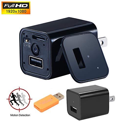 Tryvictory USB-Ladegerät Mini Motion Detection Spy Camera Netzteil HD 1080P Hd Dvd-rw