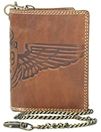 LILOSAC portefeuille biker - Cartera para hombre  hombre marrón marrón