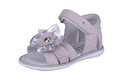 Nero Giardini Junior , Chaussures premiers pas pour bébé (fille) rose rose 22 Rosa (Emiro Perl. Dunkan)