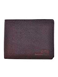 Second SKIN Brown Coloured Genuine Leather Made Wallet For Mens