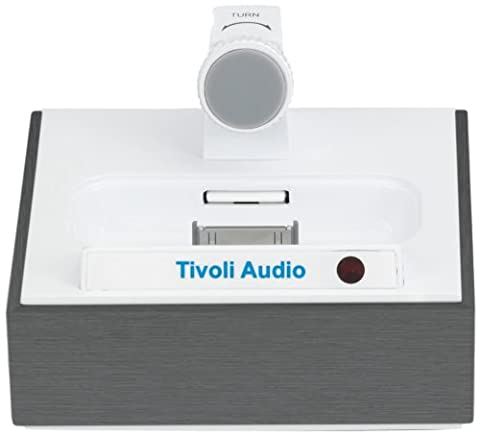 Tivoli C-1180-UE Le connecteur Dock Universal / chargeur pour l'aluminium noir Apple iPhone / iPod