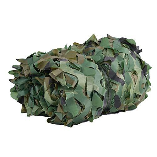 Schatten tuch Chunlan Camouflage Netting Green Woodland Tarnnetz für Camping Hide Outdoor Sonnencreme Shading Net Isolierung Net Vegetation Abdeckung (Size : 5x10m)