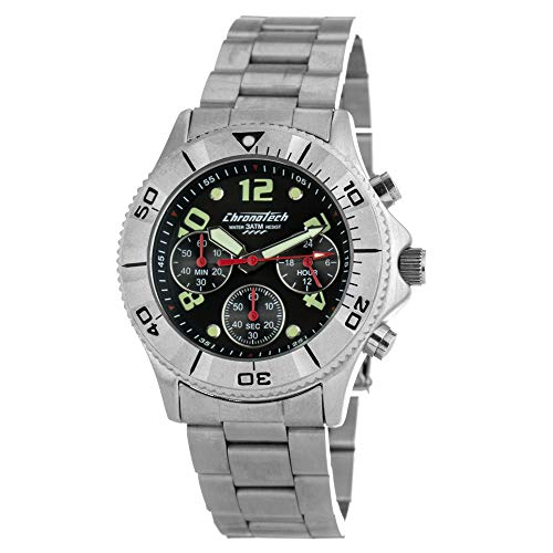 Chronotech ct7490 orologio da uomo al quarzo