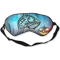 Cartoon Chameleon 99% Eyeshade Blinders Sleeping Eye Patch Eye Mask Blindfold For Travel Insomnia Meditation preisvergleich bei billige-tabletten.eu